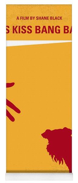 No452 My Kiss Kiss Bang Bang Minimal Movie Poster Yoga Mat