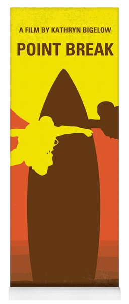No455 My Point Break Minimal Movie Poster Yoga Mat