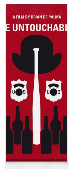 No463 My The Untouchables Minimal Movie Poster Yoga Mat