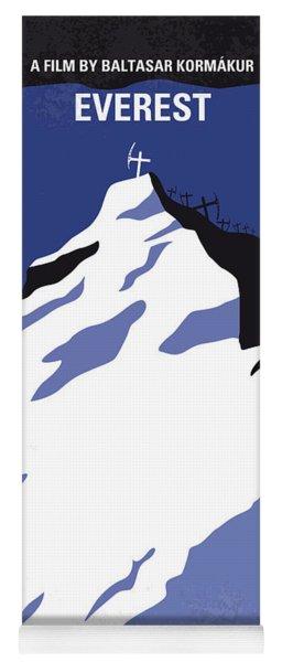 No492 My Everest Minimal Movie Poster Yoga Mat