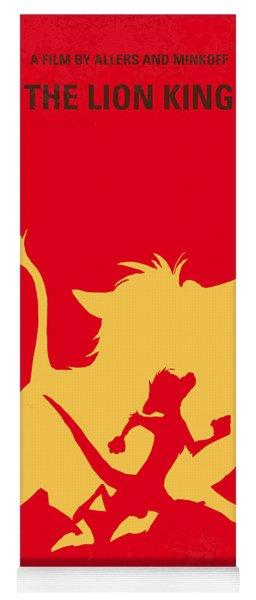 No512 My The Lion King Minimal Movie Poster Yoga Mat