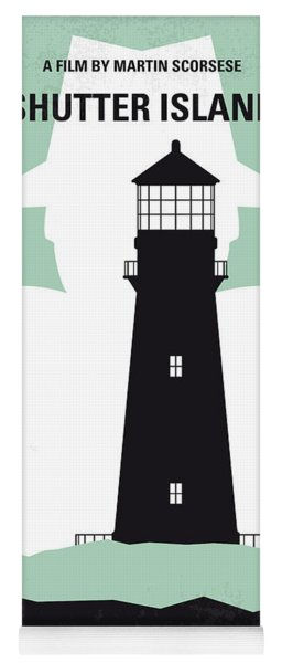 No513 My Shutter Island Minimal Movie Poster Yoga Mat