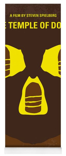 No517 My The Temple Of Doom Minimal Movie Poster Yoga Mat