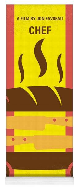 No524 My Chef Minimal Movie Poster Yoga Mat