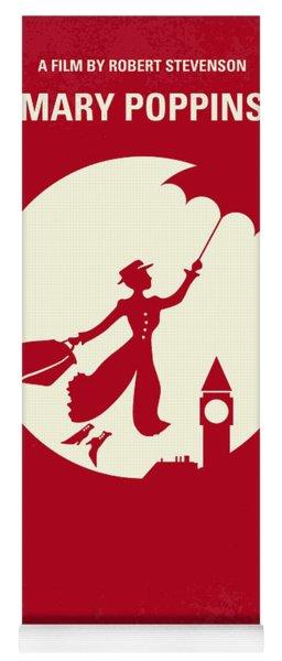 No539 My Mary Poppins Minimal Movie Poster Yoga Mat