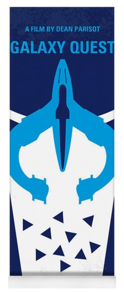 No551 My Galaxy Quest Minimal Movie Poster Yoga Mat