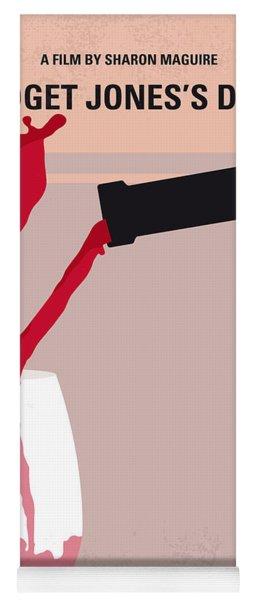 No563 My Bridget Jones Diary Minimal Movie Poster Yoga Mat