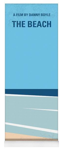 No569 My The Beach Minimal Movie Poster Yoga Mat