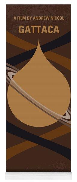 No588 My Gattaca Minimal Movie Poster Yoga Mat