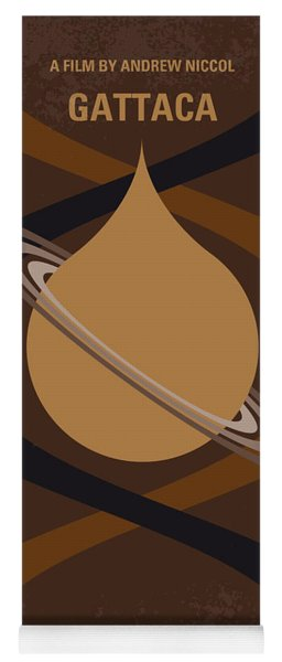No588 My Gattaca Minimal Movie Poster Yoga Mat