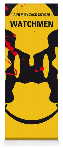 No599 My Watchmen Minimal Movie Poster Yoga Mat