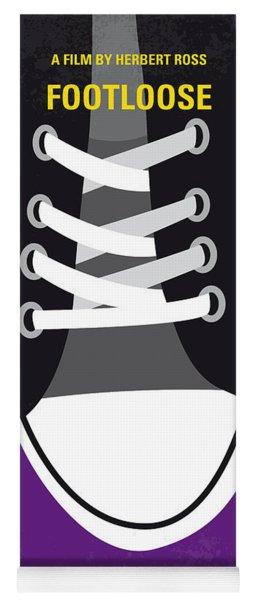 No610 My Footloose Minimal Movie Poster Yoga Mat