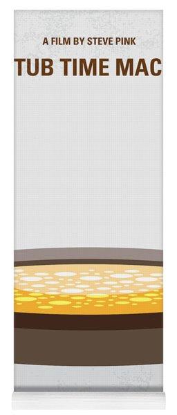 No612 My Hot Tub Time Machine Minimal Movie Poster Yoga Mat