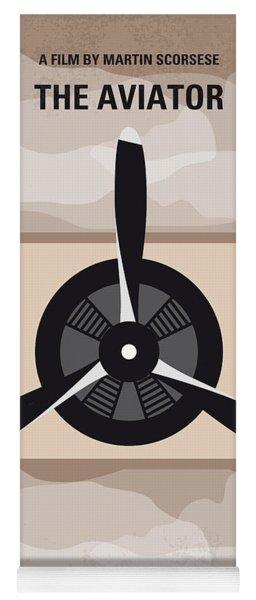 No618 My The Aviator Minimal Movie Poster Yoga Mat