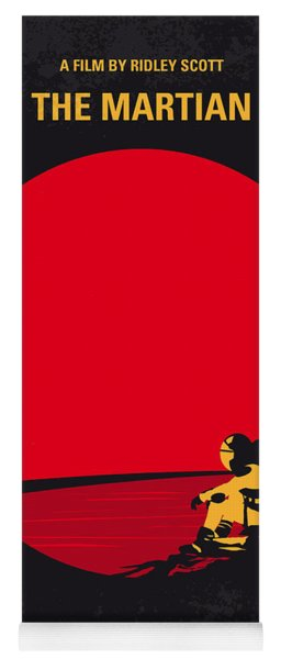 No620 My The Martian Minimal Movie Poster Yoga Mat