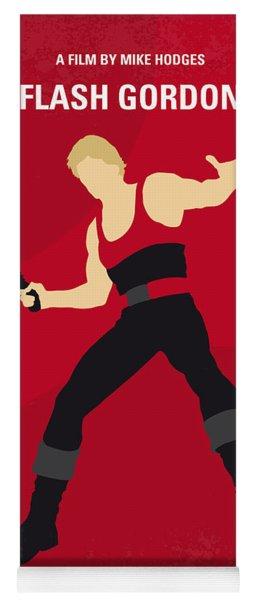 No632 My Flash Gordon Minimal Movie Poster Yoga Mat