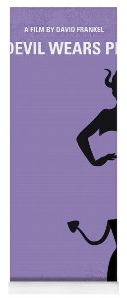 No661 My The Devil Wears Prada Minimal Movie Poster Yoga Mat