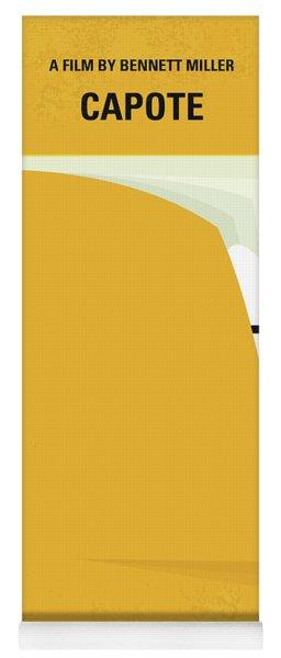 No671 My Capote Minimal Movie Poster Yoga Mat