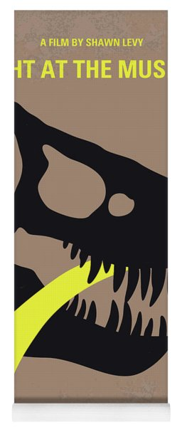 No672 My Night At The Museum Minimal Movie Poster Yoga Mat
