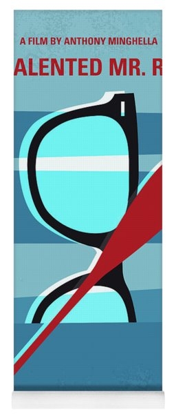 No694 My The Talented Mr Ripley Minimal Movie Poster Yoga Mat