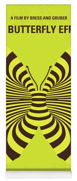 No697 My The Butterfly Effect Minimal Movie Poster Yoga Mat
