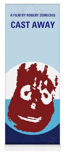 No718 My Cast Away Minimal Movie Poster Yoga Mat