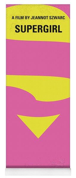 No720 My Supergirl Minimal Movie Poster Yoga Mat