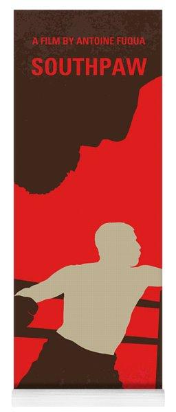 No723 My Southpaw Minimal Movie Poster Yoga Mat