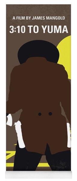 No726 My 310 To Yuma Minimal Movie Poster Yoga Mat
