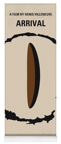 No735 My Arrival Minimal Movie Poster Yoga Mat
