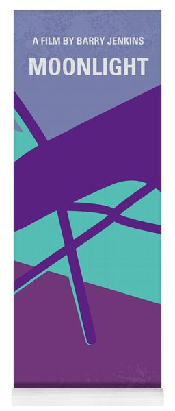 No757 My Moonlight Minimal Movie Poster Yoga Mat