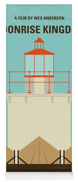 No760 My Moonrise Kingdom Minimal Movie Poster Yoga Mat