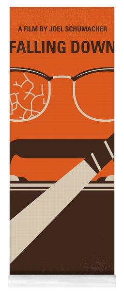 No768 My Falling Down Minimal Movie Poster Yoga Mat