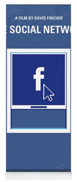 No779 My The Social Network Minimal Movie Poster Yoga Mat