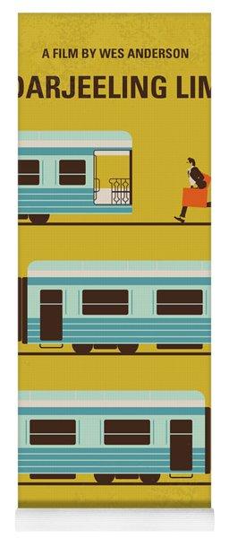 No800 My The Darjeeling Limited Minimal Movie Poster Yoga Mat