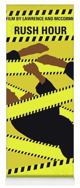 No816 My Rush Hour Minimal Movie Poster Yoga Mat