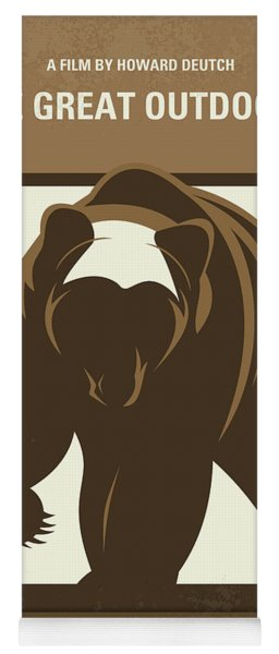 No824 My The Great Outdoors Minimal Movie Poster Yoga Mat