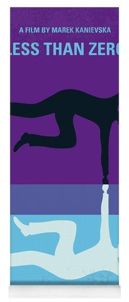 No848 My Less Than Zero Minimal Movie Poster Yoga Mat