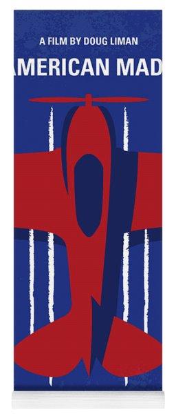 No869 My American Made Minimal Movie Poster Yoga Mat
