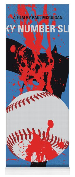 No880 My Lucky Number Slevin Minimal Movie Poster Yoga Mat