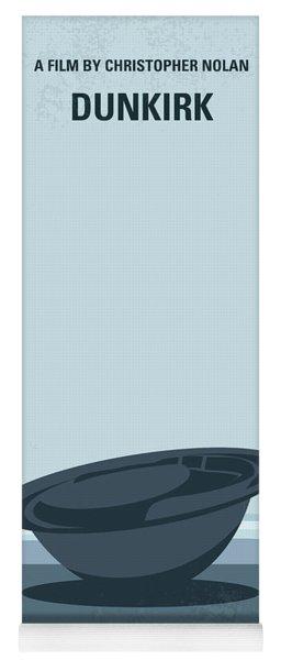 No905 My Dunkirk Minimal Movie Poster Yoga Mat