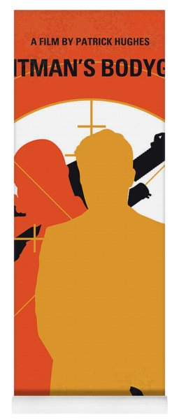 No926 My The Hitmans Bodyguard Minimal Movie Poster Yoga Mat