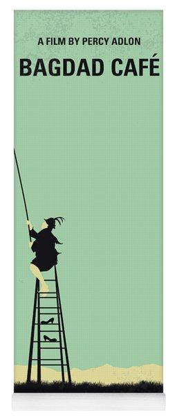 No964 My Bagdad Cafe Minimal Movie Poster Yoga Mat