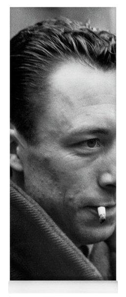 Nobel Prize Winning Writer Albert Camus Paris, France, 1944 -2015 Yoga Mat