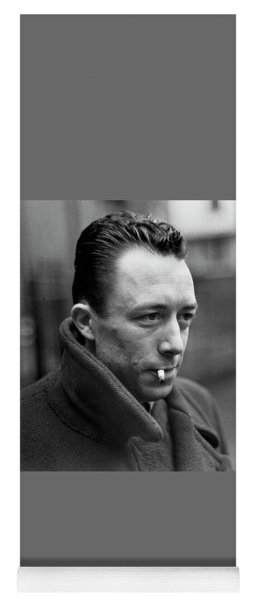 Nobel Prize Winning Writer Albert Camus Paris, France, 1962 -2015 Yoga Mat