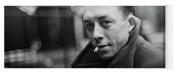 Nobel Prize Winning Writer Albert Camus Paris 1944 - 2015           Yoga Mat