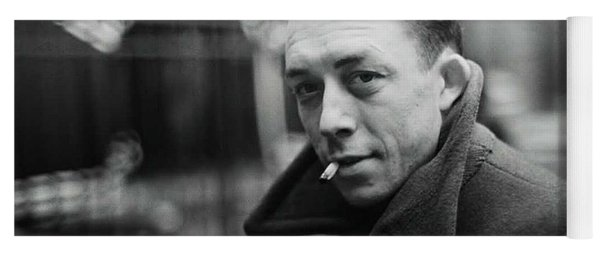 Nobel Prize Winning Writer Albert Camus Paris 1944 - 2015           Yoga Mat
