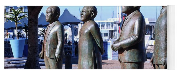 Nobel Square  /  To Honor South Africa's Four Nobel Peace Prize Laureates Yoga Mat