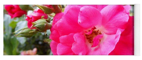Nora's Knockout Roses Yoga Mat