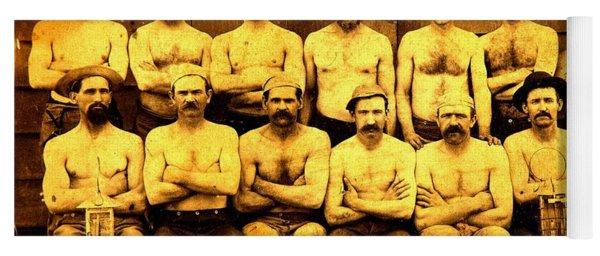 Norcross And Savage Miners Virginia City Nevada 1880 Comstock Lode Yoga Mat